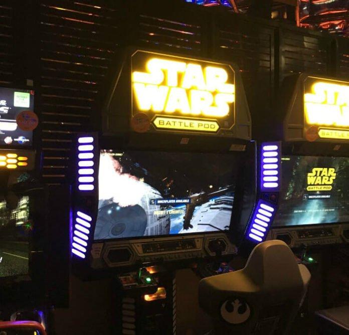 Atlantis Reno Game Room Fun Center Star Wars