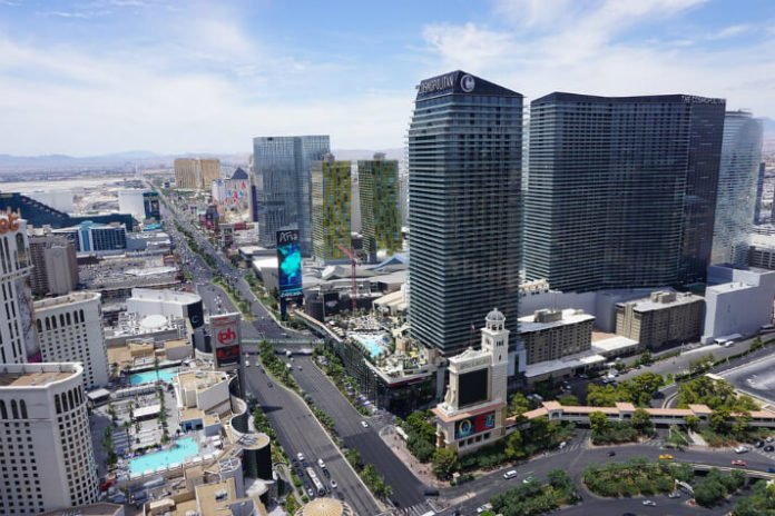 Vegas trip savings package deal JetBlue airfare Long Beach to Las Vegas Cosmopolitan strip hotel