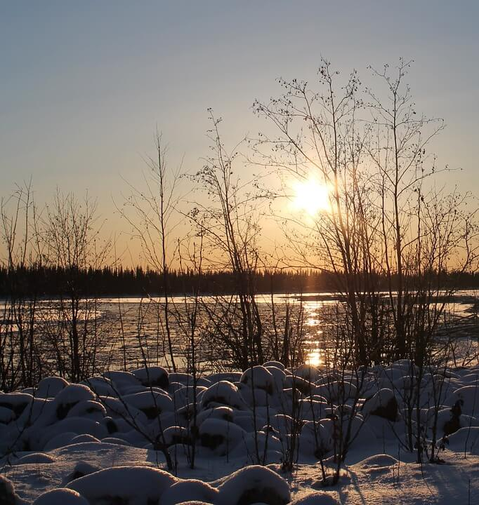 Discount dog mushing & ice fishing trips in Fairbanks Alaska trip savings