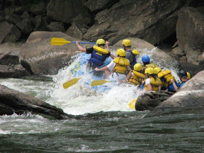 West Virginia New River Gorge rafting zipline vacation sweepstakes
