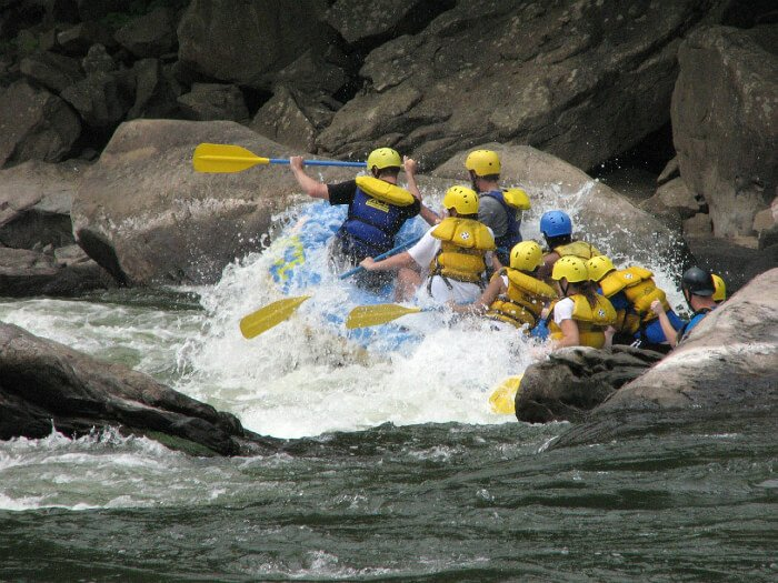 Rafting Trip Sweepstakes in West Virginia's New River Gorge | Green