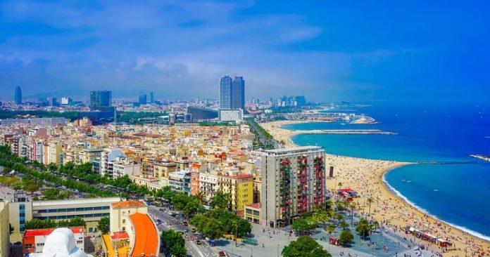 Hilton Diagonal Mar Barcelona Spain beach vacation savings