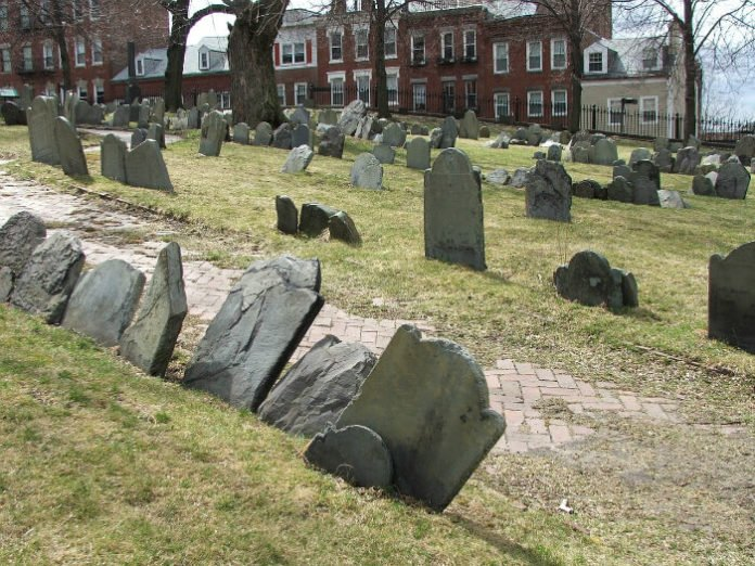 Discount admission to Boston's Ghost & Graveyards Tour see Copp's Hill & Old Granary Burying Ground