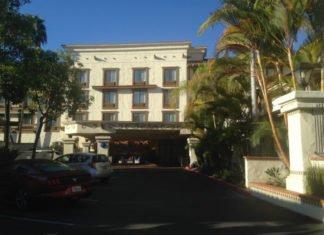 Courtyard Marriott hotel San Diego California