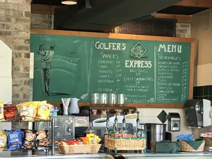 Golfers Express Restaurant Grandover Resort