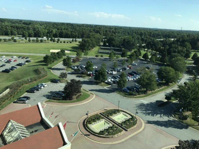 Grandover Resort Spa view Greensboro NC