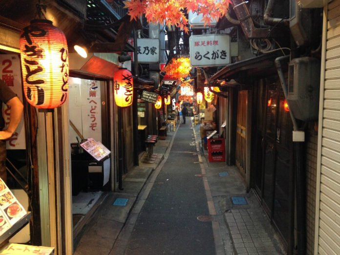 Tokyo Japan food tour 20% off Ginza Yakitori Alley