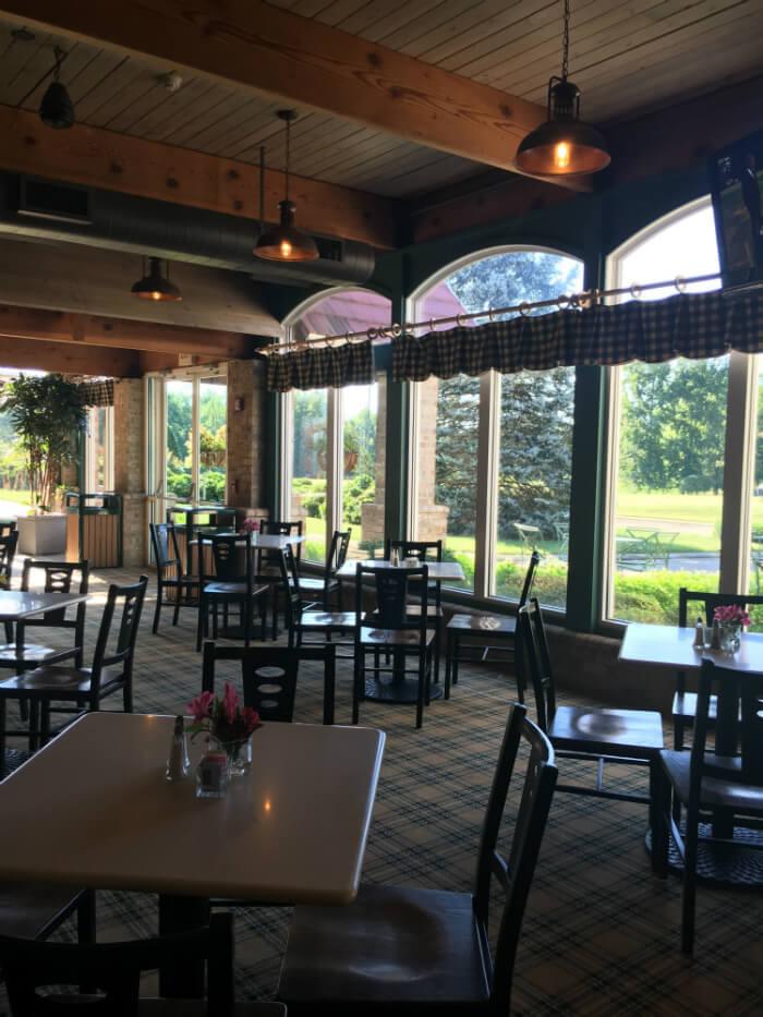 Grandover Resort cafe dining