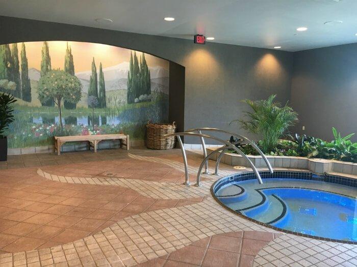 Grandover Resort and Spa hot tub