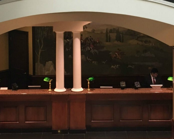 hotel lobby Grandover Resort