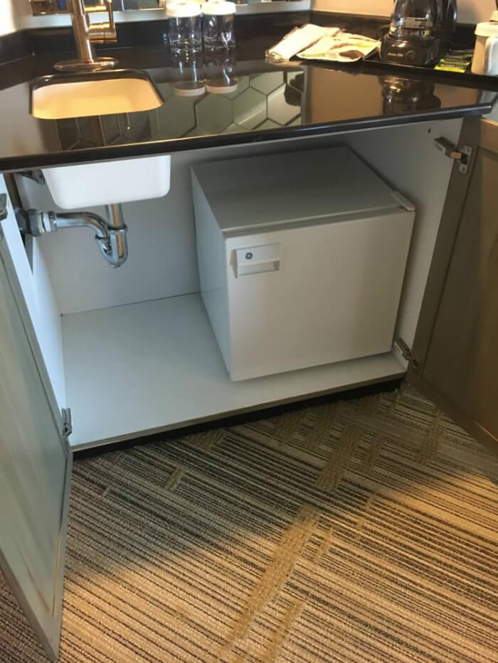 Grandover resort room refrigerator