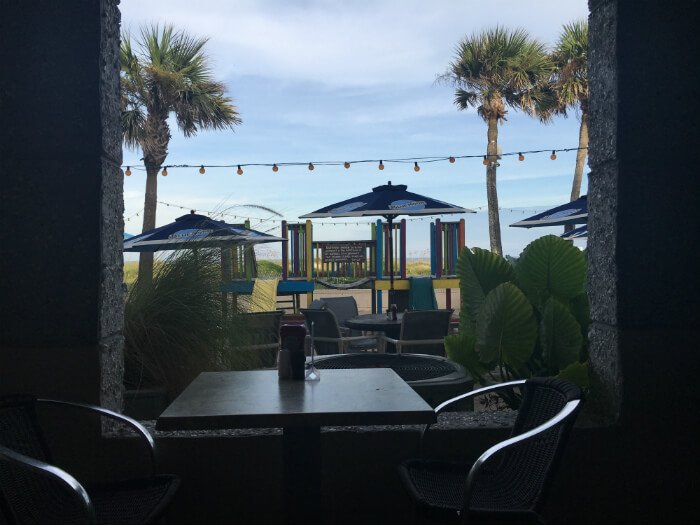 Amelia Hotel Dining Sliders Grill Nearby Beach Bar Restaurant