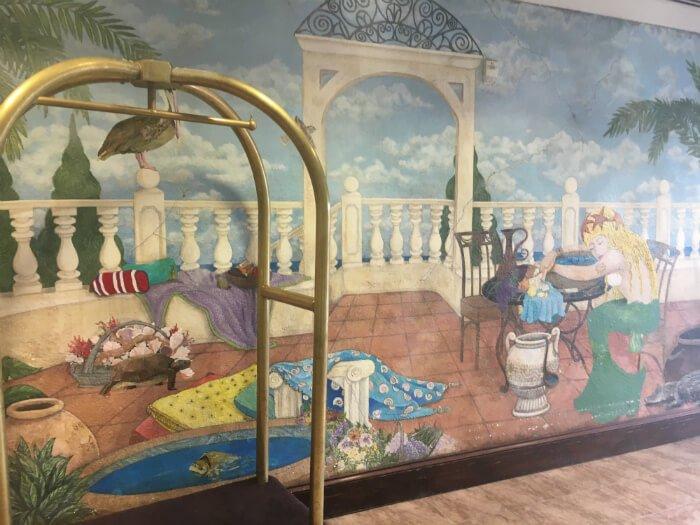Amelia Hotel Beach Mural Ocean Interior Florida