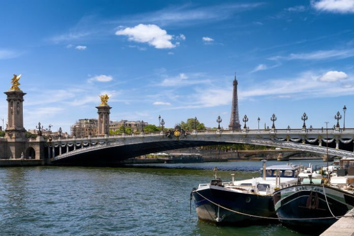 Win roundtrp airfare to Paris France 5 day MS Seine Princess cruise