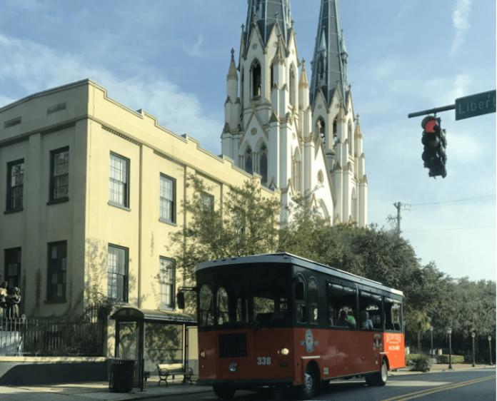 Save $10 Savannah Old Town Trolley Tour Ghost Graveyards Tour