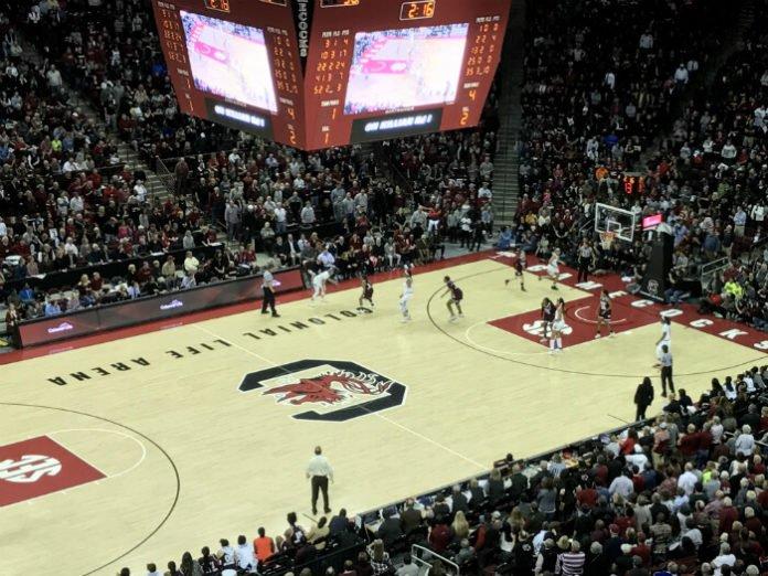 Save 20% off Colonial Life Arena where USC Gamecocks Basketball play