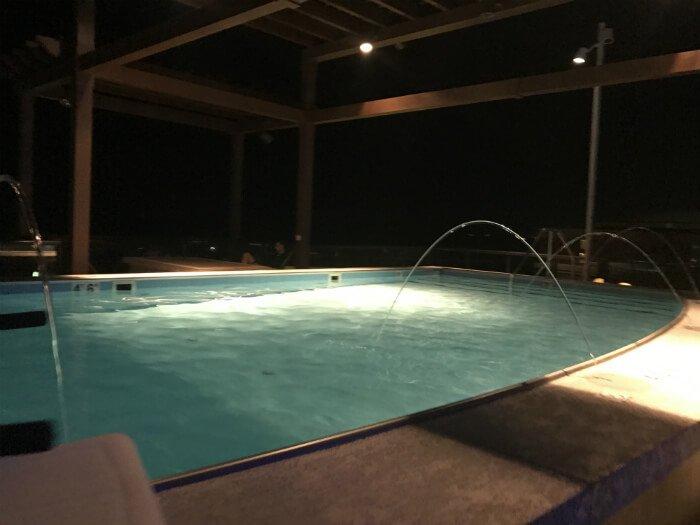 rooftop pool savannah homewood suites