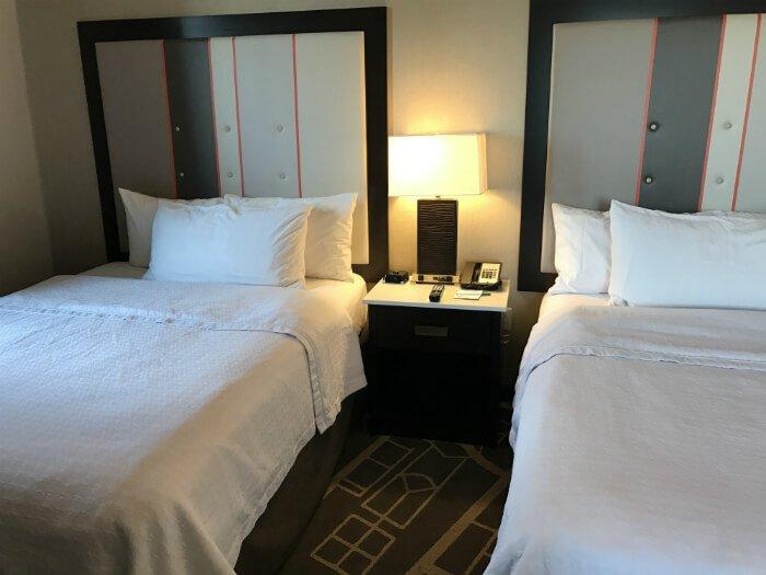 Homewood Suites Savannah bedroom beds comfortable