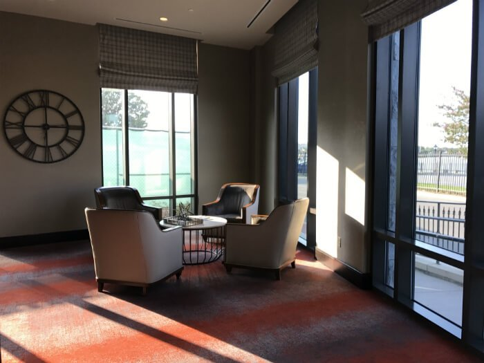 interior homewood suites savannah hotel