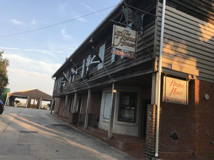 Savannah Restaurant Pirate House Near Homewood Suites Savannah