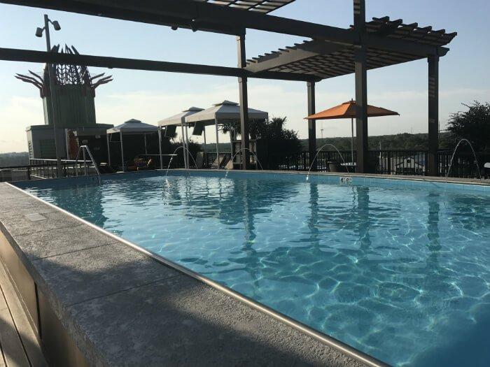 homewood suites savannah pool