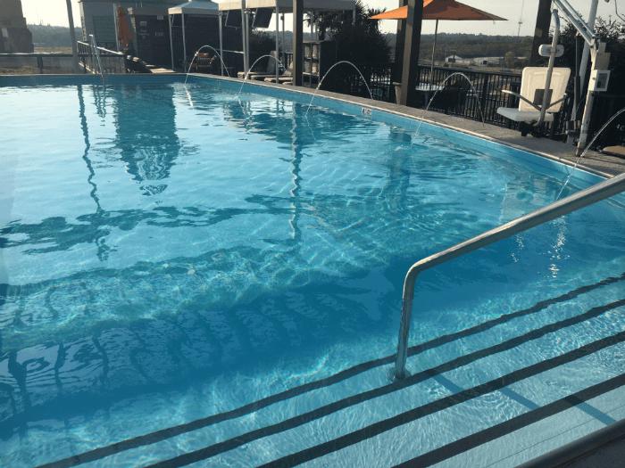 Savannah GA pool homewood suites