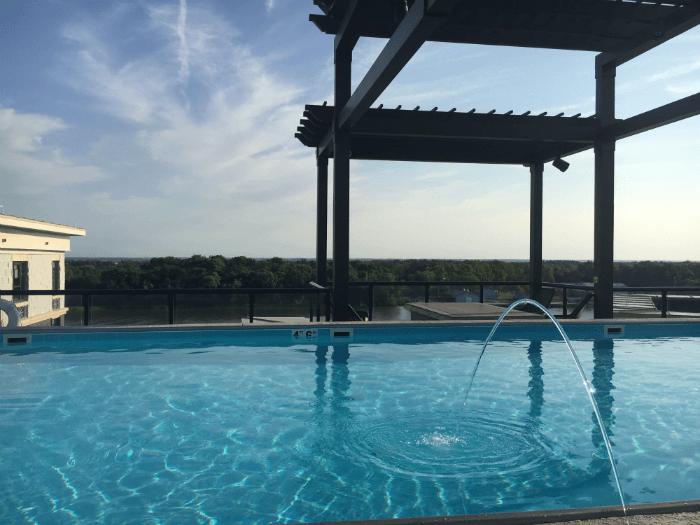 Homewood Suites pool Savannah Georgia