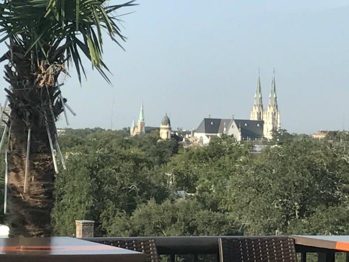 savannah views roof homewood suites