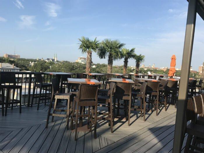Savannah rooftop bar homewood suites hotel