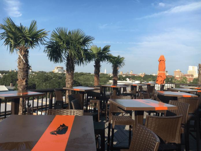 Rooftop Bar Homewood Suites Savannah