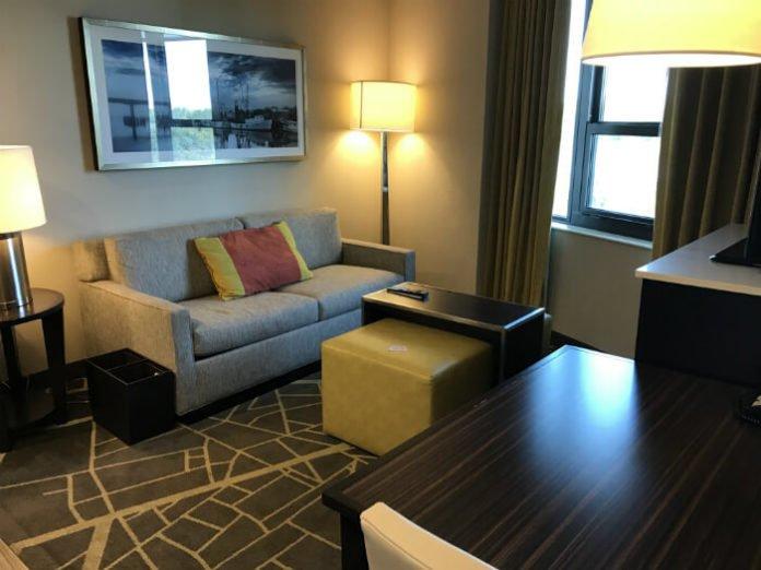 Homewood Suites Savannah Living Room