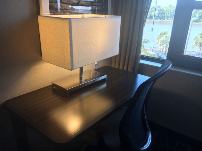 Homewood Suites Savannah Desk View Room