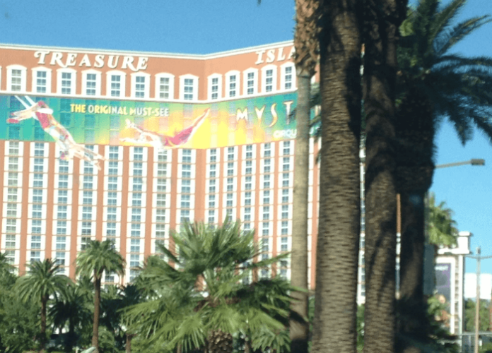 Las Vegas flight hotel packages Treasure Island, Rio, Westin, Westgate