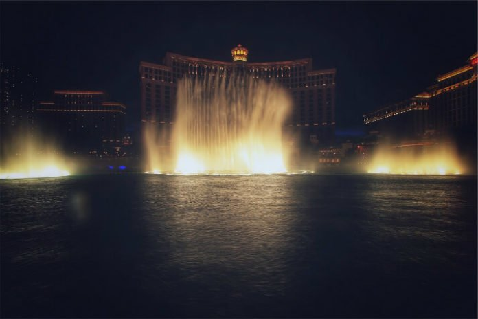 Save 43% off Las Vegas night tour see lights at Bellagio chocolate fountain