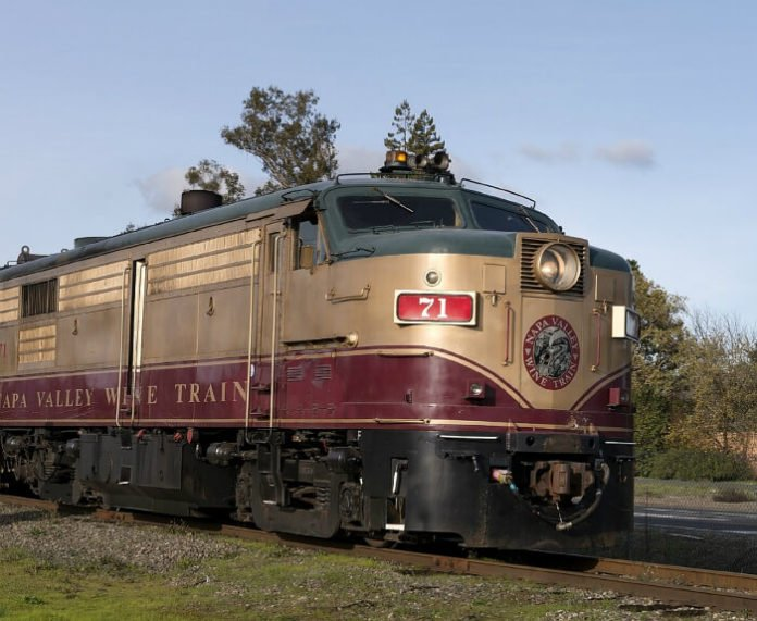 Murder on the Orient Express San Francisco trip sweepstakes Napa Valley myster train