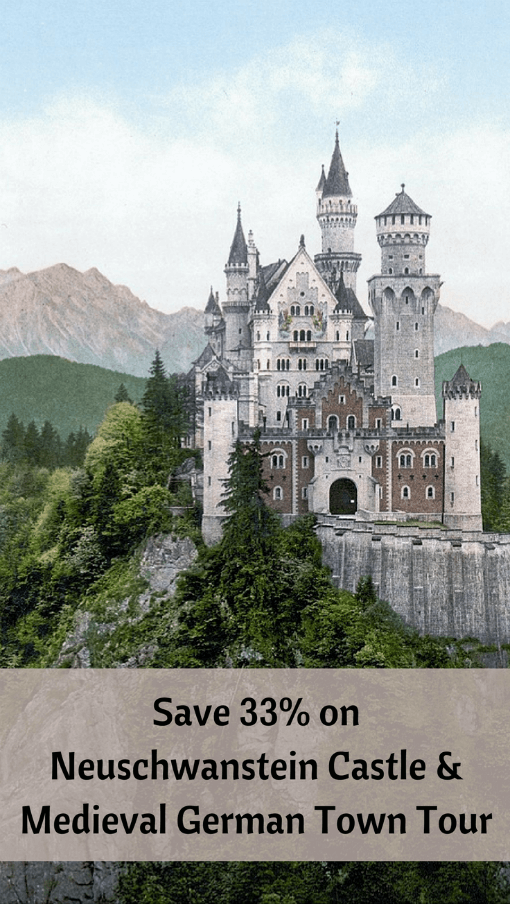 Neuschwanstein Castle - save 33% on Neuschwanstein Castle and medieval German town tour
