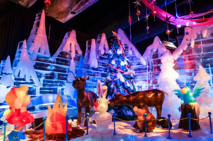 NY to Virginia Christmas tour savings Busch Gardens Gaylord National Ice DC Virginia Beach