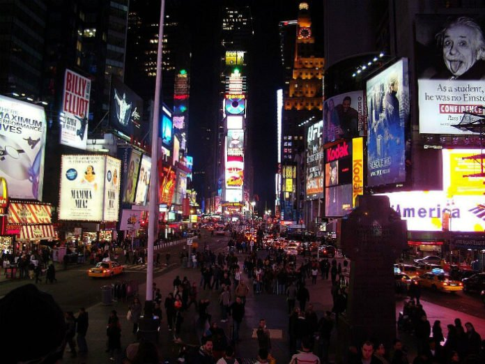 Win trip to New York City airfare & hotel & VIP tickets to Times Square New Year's Eve Party