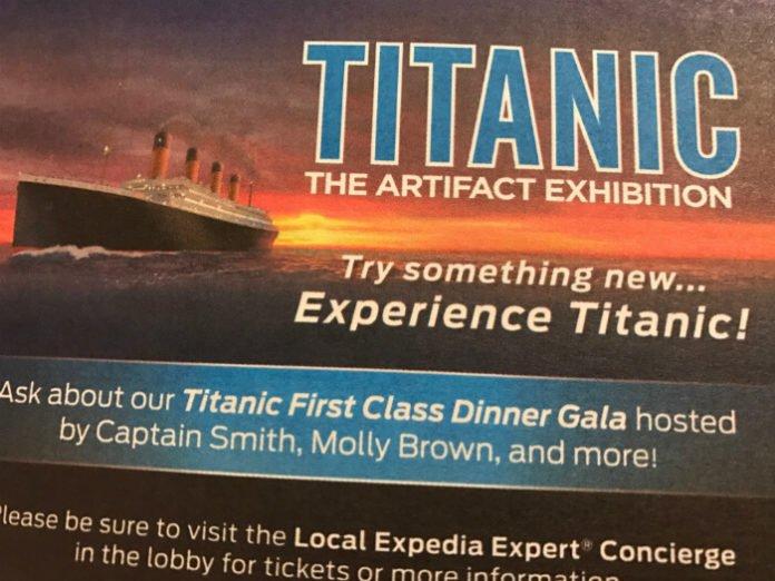 Titanic Gala Dinner 20% discount Orlando Florida