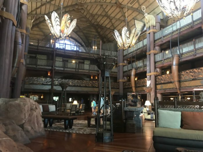 Disney World holiday package deal 6 park tickets Animal Kingdom Lodge stay flight from London to Orlando