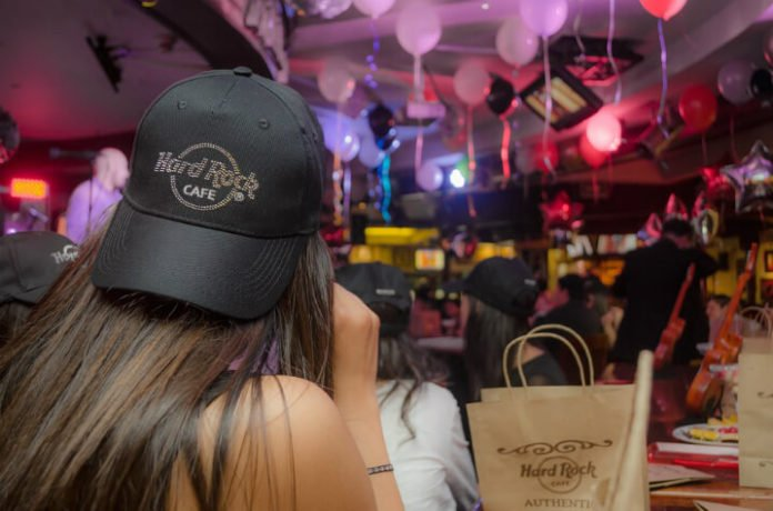 50% discount New Year's Eve Celebration at Hard Rock Cafe in Chicago Illinois