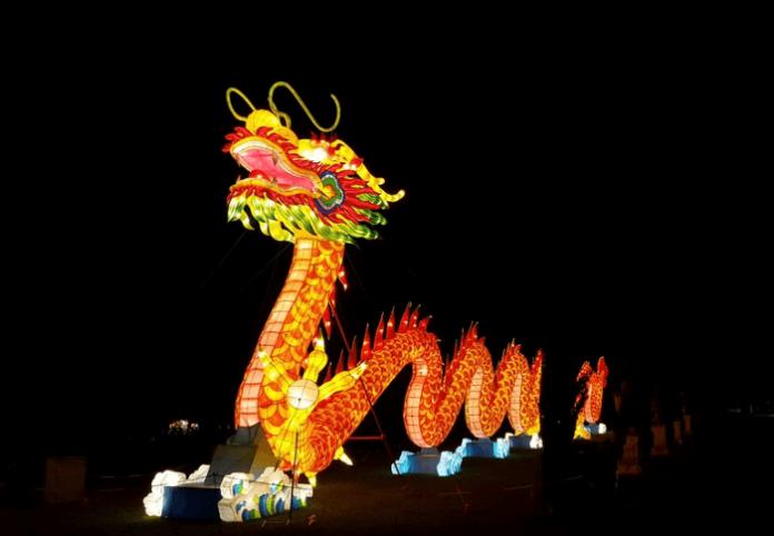Save #87 on tickets to San Diego Global Winter Wonderland lantern festival with lights, Santa, rides