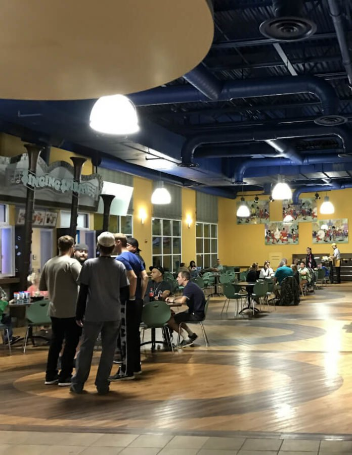 food court in Disney's All Star Music Resort