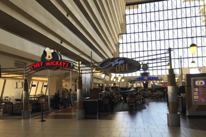 Chef Mickey's and Contempo Cafe in Disney's Contemporary Resort