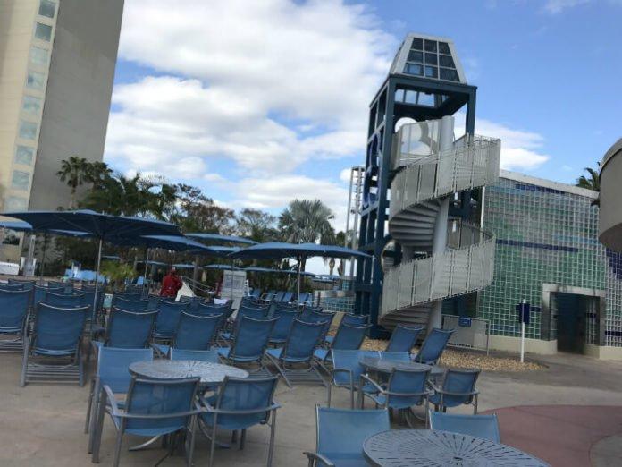 Bay Lake Tower pool at Disney World