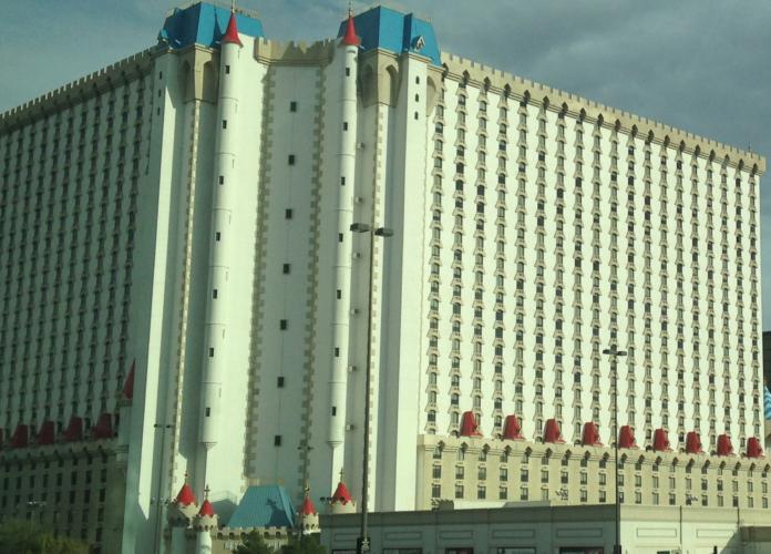 Charlotte to Las Vegas flight hotel packages Excalibur Paris TI LINQ SLS Bellagio