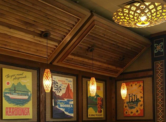 Polynesian Village Resort's Captain Cook restaurant