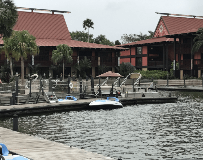 boat transportation at Disney's Polynesian Village Resort