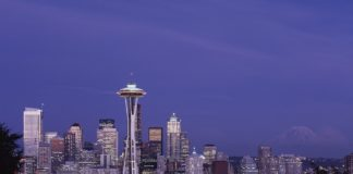 Doubletree Seattle with free airport shuttle has discounted stays up to 50% off