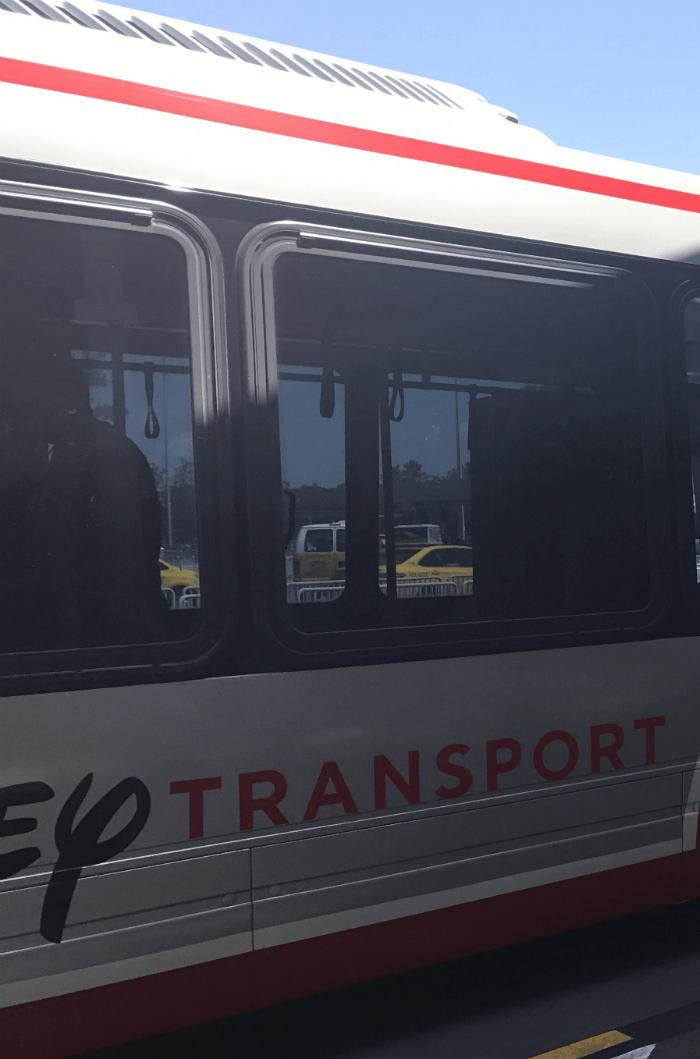 Disney World bus transporation